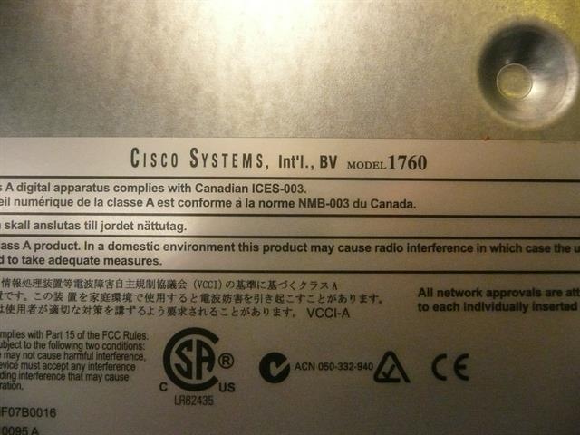 1760 Cisco image