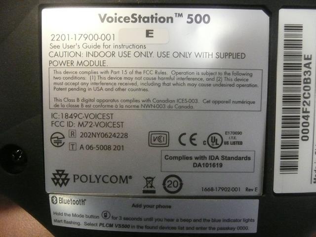 2201-17900-001 Polycom image