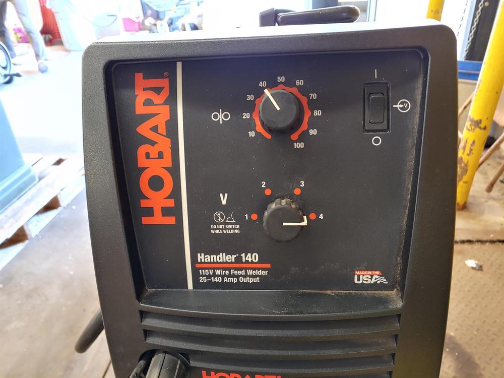 Hobart Handler 140 Wire Feed MIG Welder with Cart