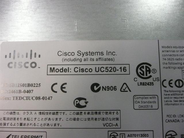 UC520 Cisco image