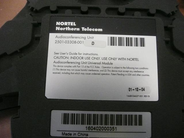 NTAB2666 / 2501-03308-001 / 2501-04551-001-A Nortel image