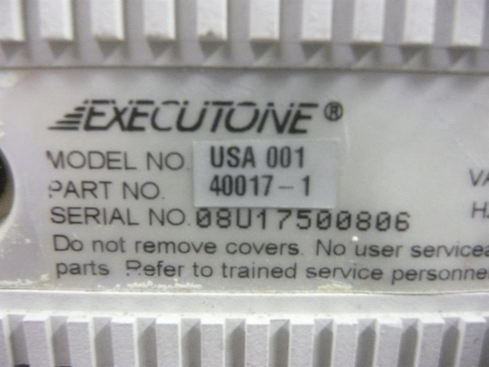 Executone- Isoetec 440017  Terminal image