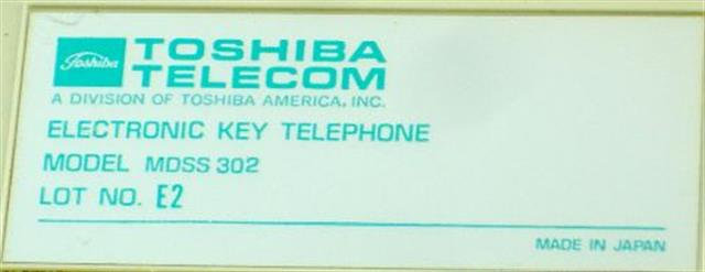 Toshiba MDSS302 Module image