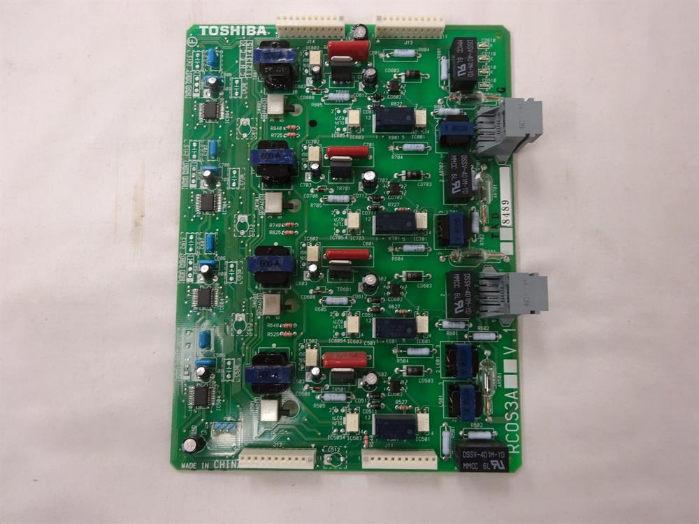 Toshiba Strata DK RCOS3A 4 Port Analog CO Line Sub-Assembly Circuit Card image
