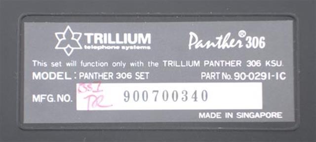 Trillium 90-0292 Phone image
