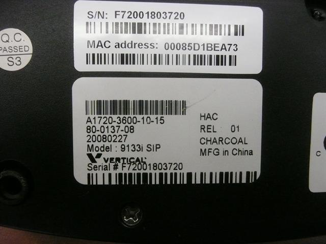 Vertical Networks VW-9133i Phone image
