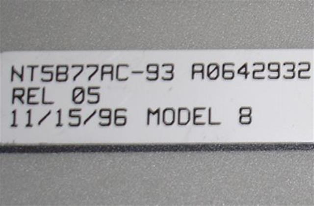 NT5B77AC - A0642932 Nortel-Norstar image