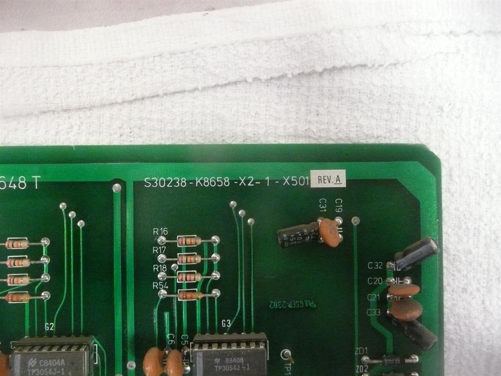 Northcom S30238-K8658-X2-1-X501 Circuit Card image
