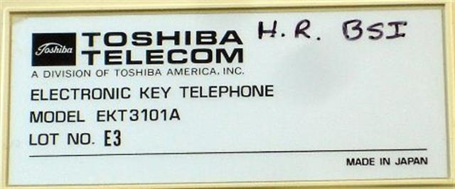 Toshiba 3101A Grey Phone image