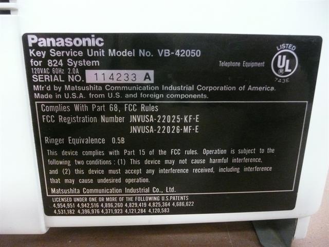 VB-42050 Panasonic image