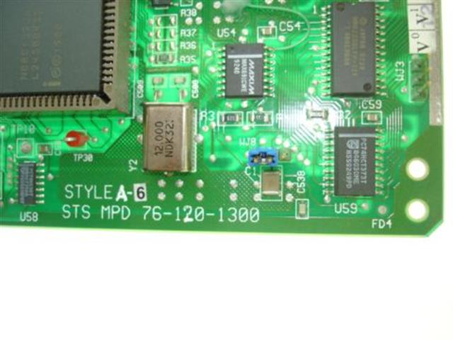Telrad 76-120-1300 Version 3 Style A6 Circuit Card image