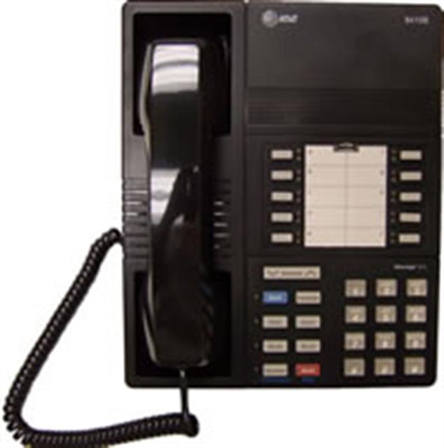 Avaya 8410B Black 10 button Proprietary Telephone image