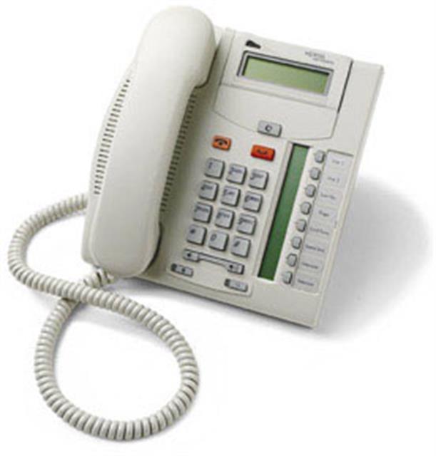 Nortel Norstar BCM NT8B26 T7208 Platinum 8 Button Digital Telephone image