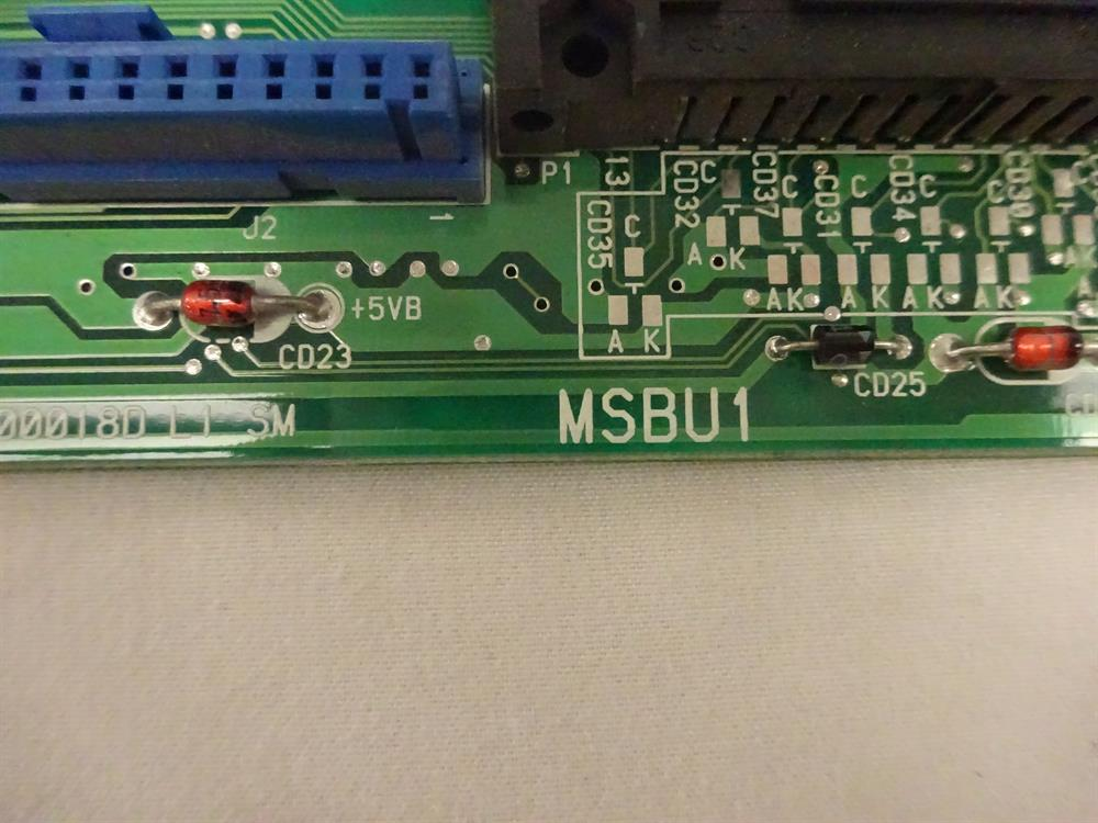 Toshiba MSBU1A Circuit Card image
