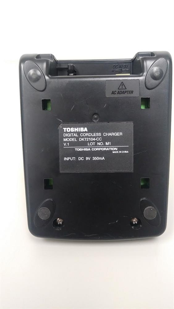 Toshiba DKT2104-CC Charging Cradle with Power Supply for DKT2104-CT image