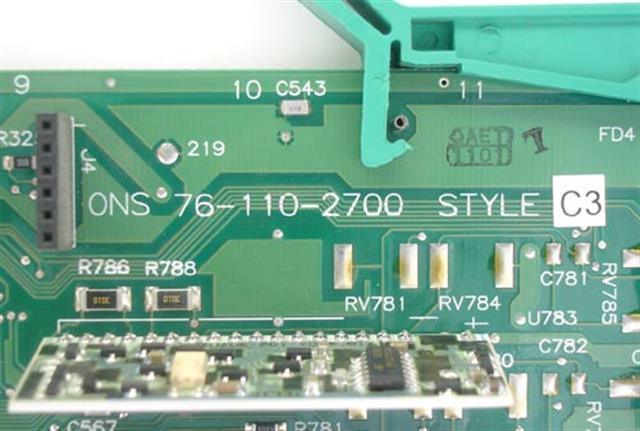 Telrad 76-110-2700 / ONS Circuit Card image
