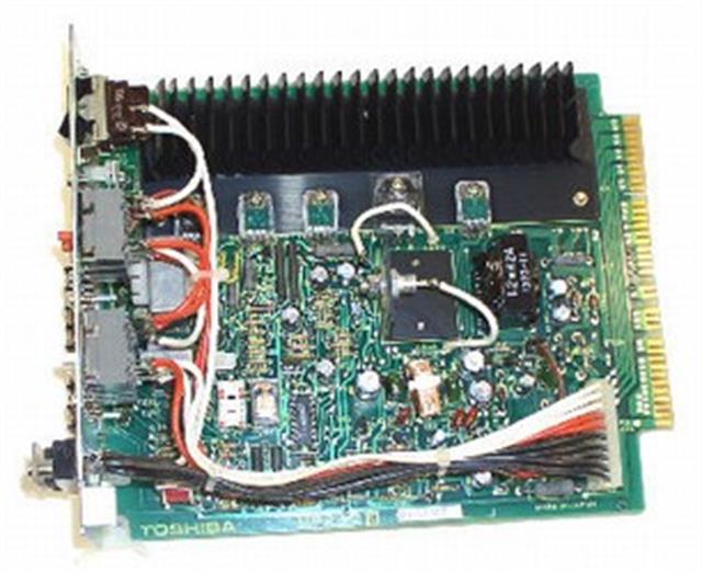 Toshiba MPRU2 Circuit Card image