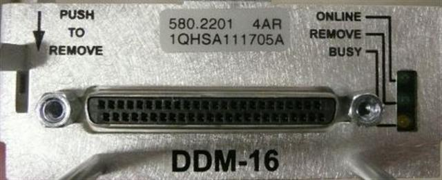 Mitel DDM-16 580.2201 16 Port Digital Desktop Module for Mitel 5000 HX and MiVoice Office 250 Systems image