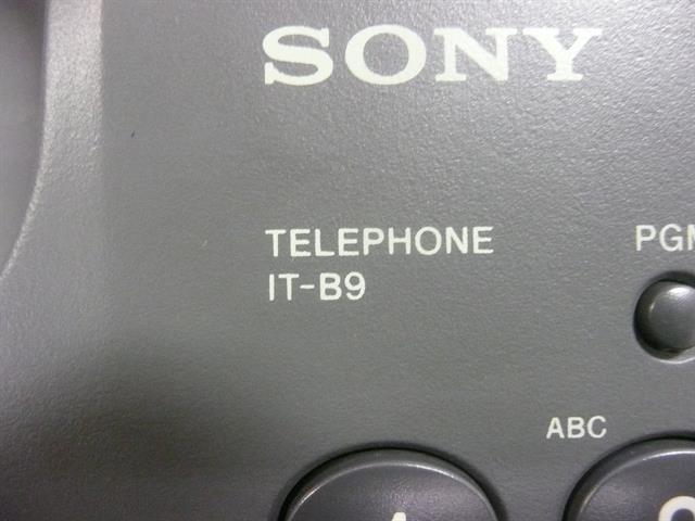 Sony IT-B9 Phone image