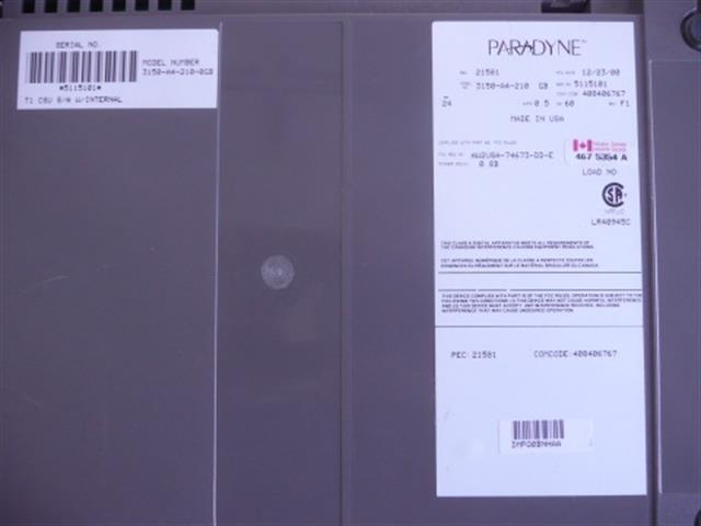3150-A4-210-0GB / 408406767 Paradyne image