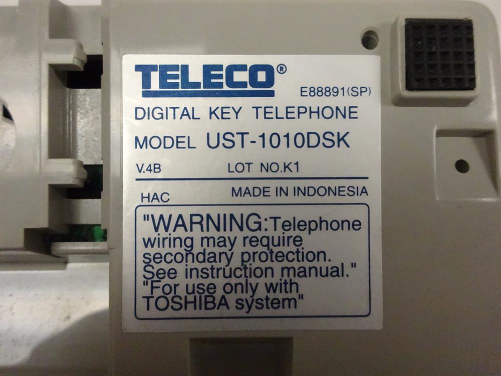 Toshiba UST-1010DSK Phone image