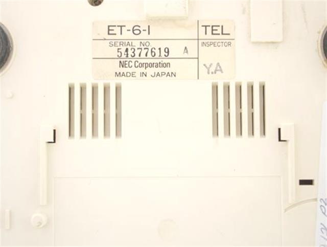 NEC ET-6-1 Phone image