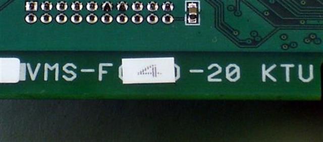 NEC VMS-F(4)-20  - 792010 Circuit Card image