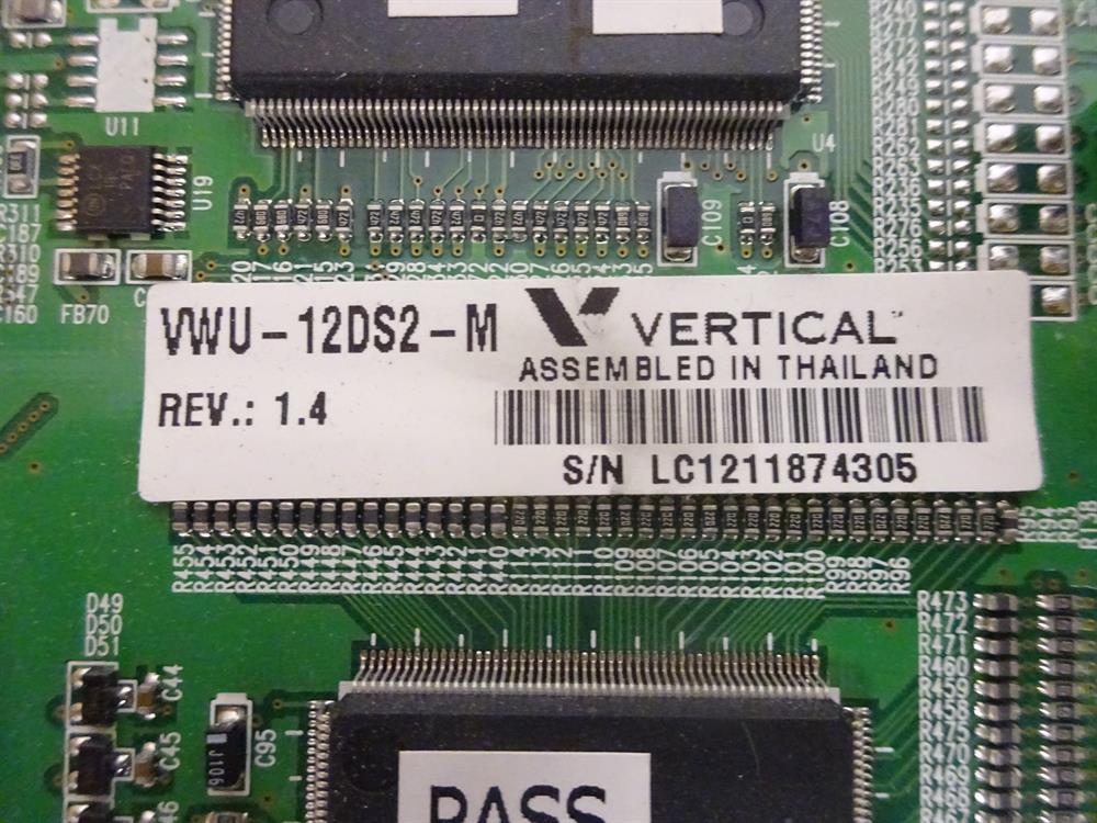 Vertical Communications VW5-12DS2-M Circuit Card image