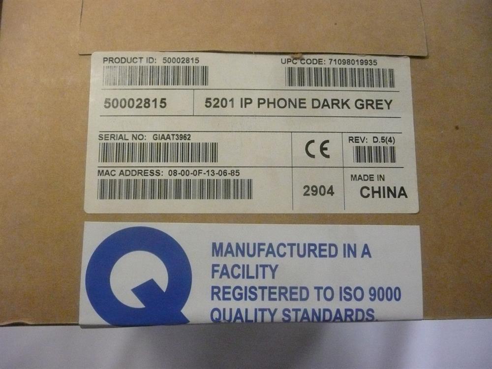 Mitel 50002815 (NIB) IP Phone image