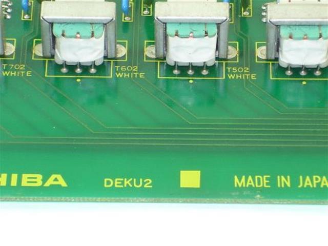 Toshiba DEKU2 Circuit Card image