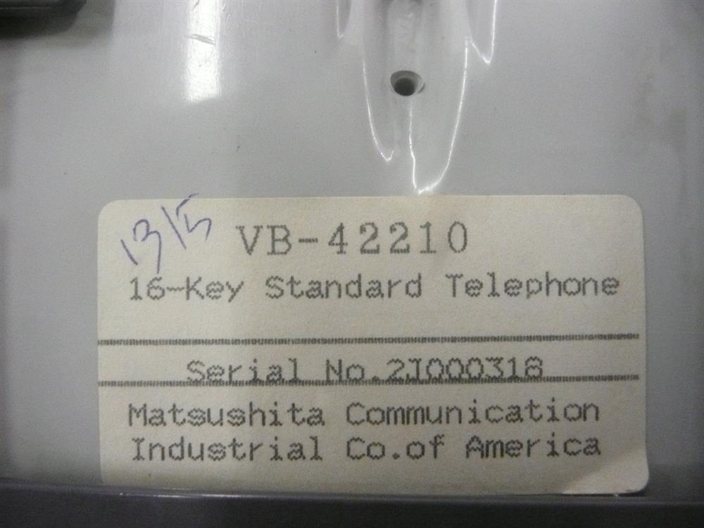 Panasonic VB-42210-G Phone image
