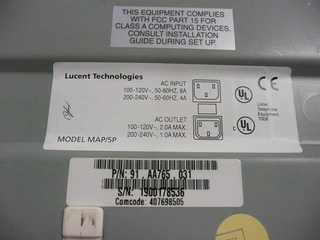 AT&T/Lucent/Avaya 91.AA765.031 (No Login Info) Voicemail image