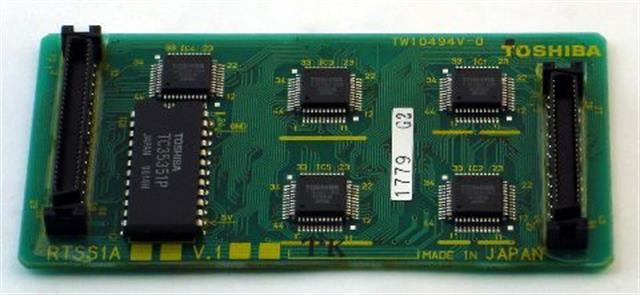 Toshiba RTSS1A Circuit Card image