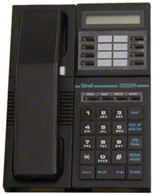 Telrad 79-220-0000\Black w/ Display Phone image