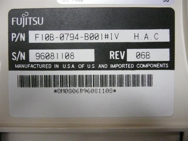 Fujitsu F10B-0794-B001#IV Phone image