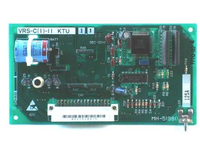 NEC VRS-C(1)-11 - 721140 Circuit Card image