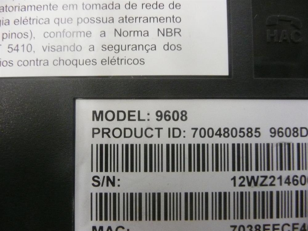 Avaya 9608 700480585 8 Button Self-Labeling VoIP Phone with English Label Text Keys image