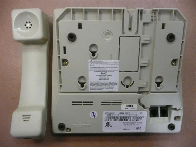 Nortel M2008 Ash (NT9K08) Phone image