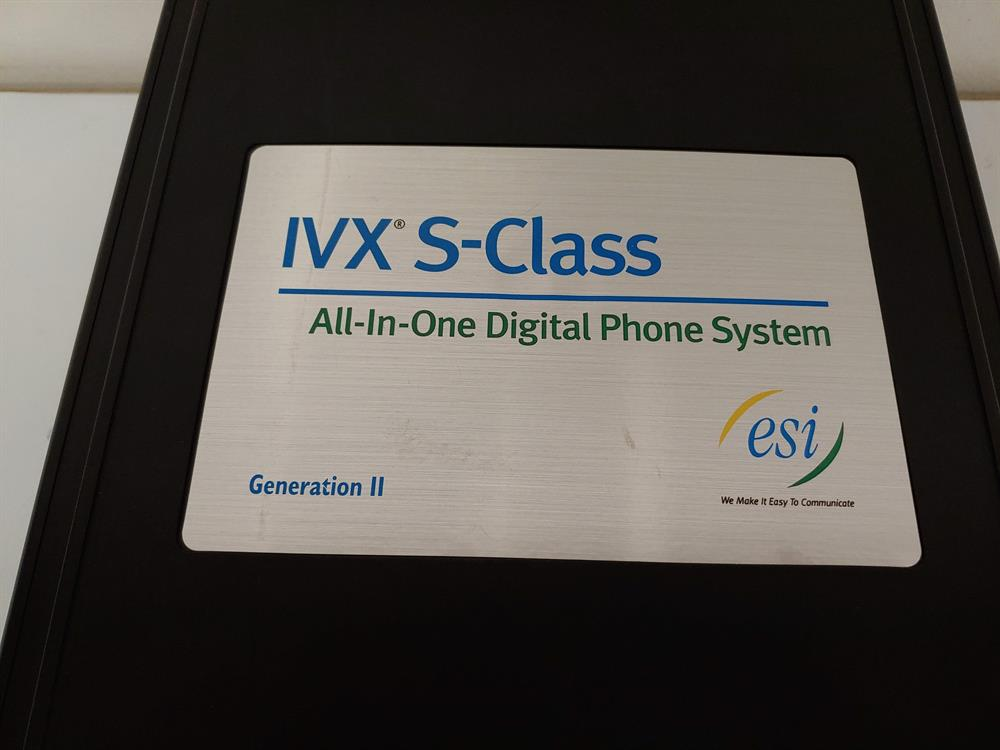 ESI IVX-56X (S-Class Gen2) 5000-0341 2 Slot KSU with NSP  image