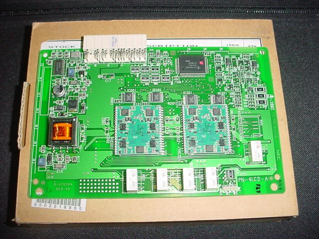 NEC PN-4LCD-A / 150216 Circuit Card image