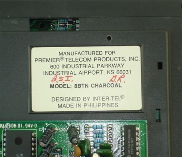 Inter-Tel 660.7500 Phone image