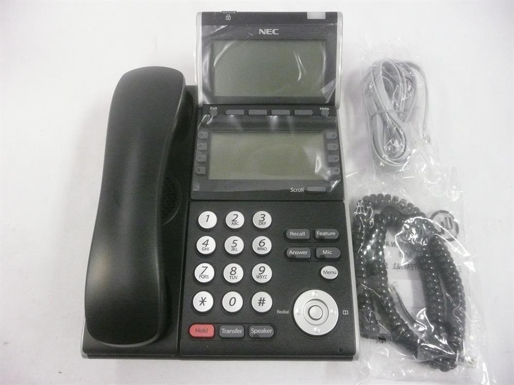 NEC DT300 Series DTL-8LD-1 680010 Self-Labeling Digital Telephone with Full Duplex Speakerphone and Display image