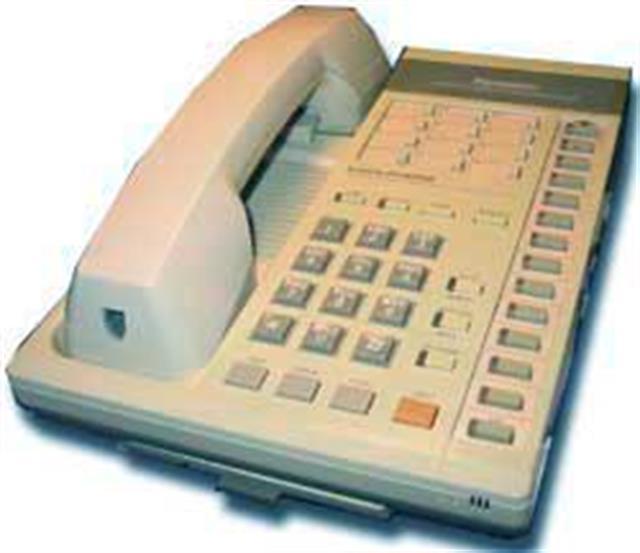 Panasonic KX-T123220-2 Phone image