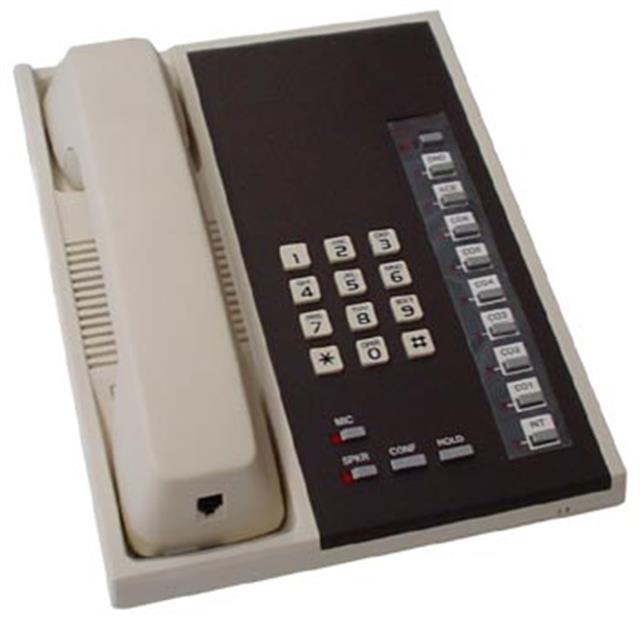 Toshiba EKT6015-S 10 Button Electronic Telephone with Speaker image