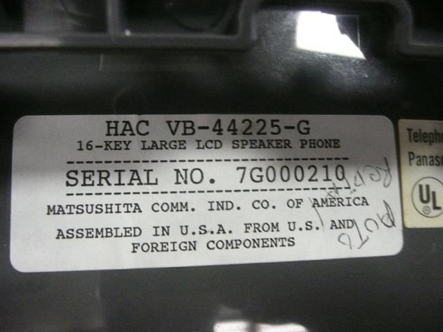 VB-44225-G Panasonic image