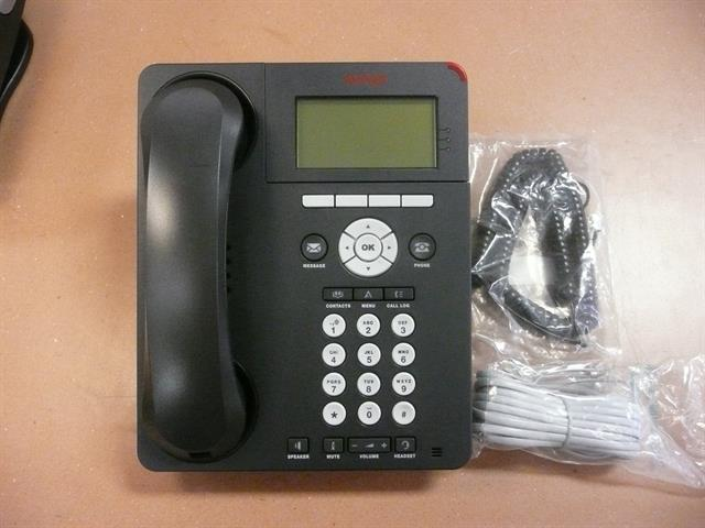 Avaya 9620L 700461197 3 Line VoIP Telephone with Speakerphone and Display image