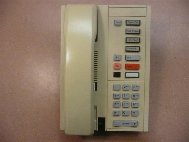 Ash Nortel Unity NT4L01AF Single Line Telephone image