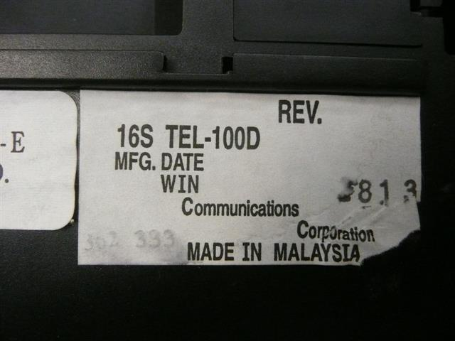 WIN 16S-TEL Phone image