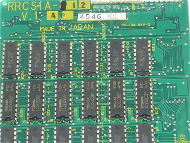 Toshiba RRCS1A-12 Circuit Card image