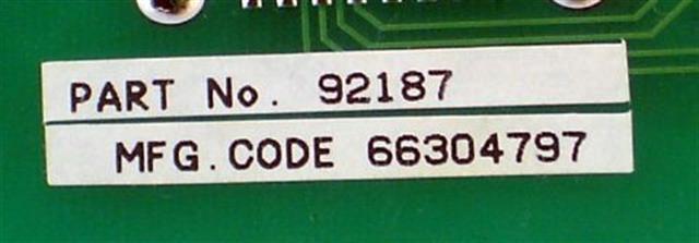 NEC - Nitsuko - Tie 92187 / DX2NA-4ATRU-LD1 Circuit Card image